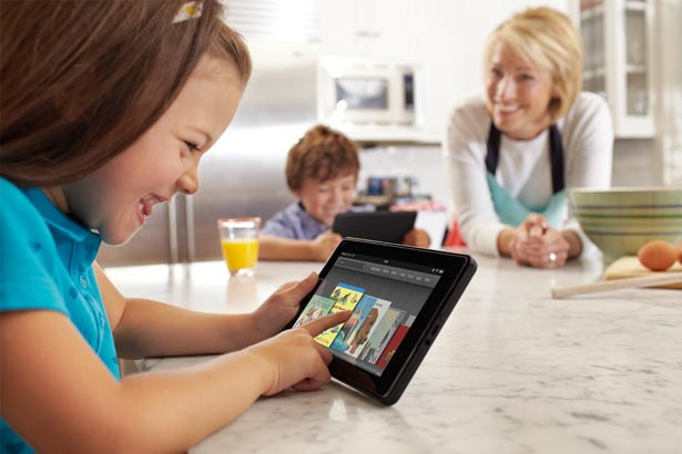 Designers will have to embrace smaller tablet form-factors in 2012